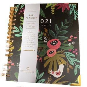 Idlewild Co. 2021 Planner Daily & Monthly Agenda